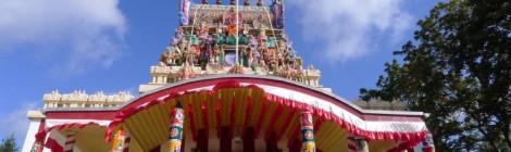 Hinduistisches Wagenfest Hindu chariot festival