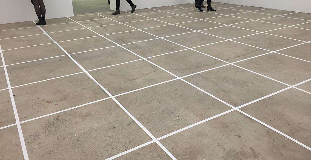 Berlin Kicks Kunstwerke Channa Horwitz